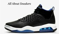 "Jordan Maxin 200 ""Black/White/Rush Blue"" Men's Trainers Limited Stock All Sizes"