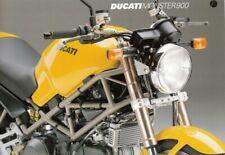 P + DUCATI Monster 900 + Prospekt flyer + 1 Blatt / 2 Seiten