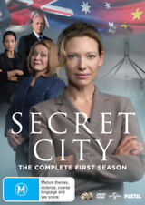 SECRET CITY  - COMPLETE SEASON 1   -  DVD - Region 2 UK Compatible -  sealed