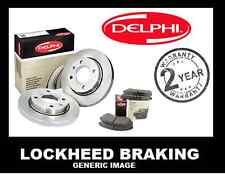 ROVER 45 VENTED  FRONT  BRAKE KIT - DISCS AND PADS DELPHI LOCKHEED