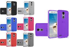 Per LG Phoenix 4 LM-X210APM (2018) poliuretano termoplastico flessibile della Pelle Gel Custodia Cover Telefono