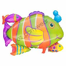Under the Sea Fish Balloon Tropical Fish Helium or Air Australia Post