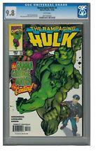 Rampaging Hulk #3 (1998) Marvel Comics CGC 9.8 White Pages ZZ524