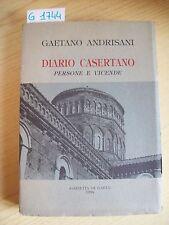 G. ANDRISANI - DIARIO CASERTANO: PERSONE E VICENDE - GAZZETTA DI GAETA - 1994