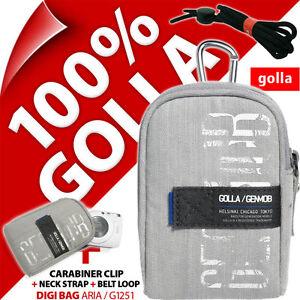 Golla Universal Compact Digital Camera Case Bag Grey for Canon Sony Fuji Samsung