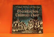 OBERNKIRCHEN CHILDRENS CHOIR - THE HAPPY WANDERER - ANGEL EX VINYL LP