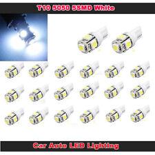 20x Lampadina T10 W5W 5SMD 194 168 LED LAMPADE LAMPADINE LUCI BIANCO POSIZIONE