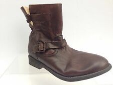 Zigi Soho Imrie Women's Brown Leather Buckle Ankle Boots Size 9M