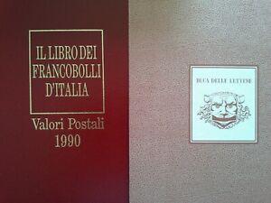 Italia Libro dei francobolli 1990 Buca delle lettere Completo con francobolli