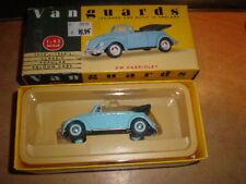 Vanguards 1/43 #VA2001  VW Beetle Cabriolet  Pale blue   MIB