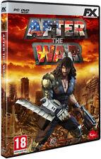 JUEGO  FX INTERACTIVE  PC GAME  AFTER THE WAR  NUEVO (SIN ABRIR)