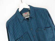 VTG270 LEVI STRAUSS VINTAGE SHIRT ORIGINAL RETRO FADED LEVI'S CHECKED size XL