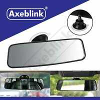 Universal Rear View Interior Car Mirror Adjustable Wide Long Suction Cup Safety