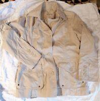 BROOKSHIRE JACKE BLAZER BEIGE Größe 42 TOP Zustand NEUWERTIG Damen Jacken