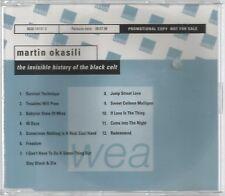 RARE PROMO CD MARTIN OKASILI THE INVISIBLE HISTORY OF THE BLACK CELT 12 TRACKS