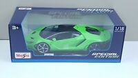 Maisto 2020 1:18 Special Edition Lamborghini Centenario (Lime) Diecast Car