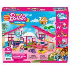 Barbie Malibu Haus Mega Construx Puppenhaus inkl Puppen + Zubehör NEU & OVP