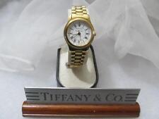 Tiffany & Co. Ladies 18K Gold Plated Portfolio Swiss Wrist Watch