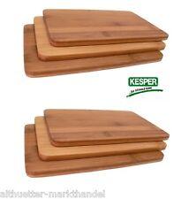 "Frühstücksbrettchen Vesperbrettchen Holz ""Bambus"" Brettchen KESPER Original!"