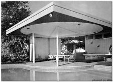 1964 MODERNIST PATIO ROOF DESIGNS plan build lath bamboo screens mid century