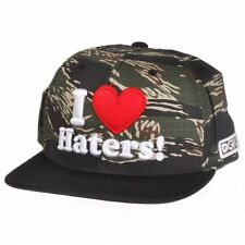 NEW DGK Haters Tiger Camo & Black Snapback Hat Cap