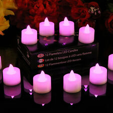 12 LED Rose Bougies Sans Flamme, Vacillant Pile bougies par PK Green
