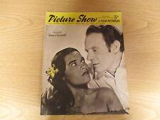 March 1952, PICTURE SHOW, Trevor Howard, Kerima, Gene Nelson, Mitzi Gaynor.