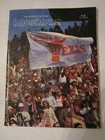 1984 TEXAS VS AUBURN - MEMORIAL STADIUM  OFFICIAL FOOTBALL GAME PROGRAM - TUB FP