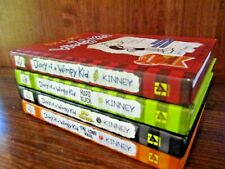 Diary of a Wimpy Kid Lot of 4 Hardcover Books Jeff Kinney Long Haul Hard Luck