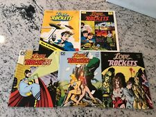 Lot Of 5 Love & Rockets Comic Book Magazines # 1 2 3 4 5 1st Prints Fantagr TD15