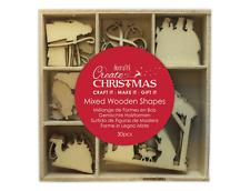 Nativity - Wooden Shapes - 30pcs - Create Christmas