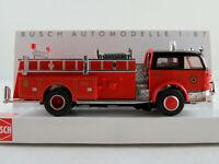 "Busch 46018 LaFrance Pumper (1968) ""Fire Department (USA)"" 1:87/H0 NEU/OVP"