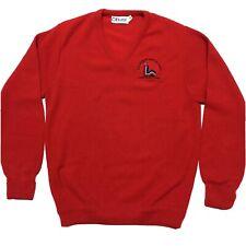 New listing Lake Placid Winter Olympics Vintage 1980 Games Vtg 80s Etonic Red Sweater Medium