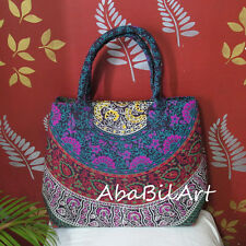 New Indian Mandala Cotton Multicolored Purse Hobo Bag Large Women Shopping Bags