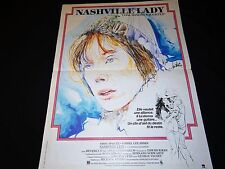 NASHVILLE LADY  sissy spacek affiche cinema