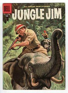 Dell Jungle Jim - No 15 - 1958 VERY SCARCE UK!! HIGH GRADE COPY!