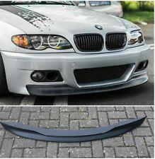ANGEBOT BMW E46 Limousine Touring M3 Front Look Spoiler Schwert Lippe ABS