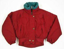 Obermeyer Juniors Size 8 Red Winter Skiwear Jacket