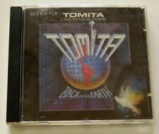 CD - Tomita Live In New York Back To The Earth