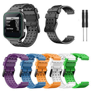 Silicone Watchband Belt Strap Bracelet Replacement for GarminApproachS20 Watch