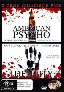 American Psycho / Identity (DVD, 2007, 2-Disc Set)