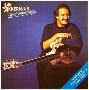 JAN AKKERMAN Can't Stand Noise CD Jazz w/ 4 Bonus Tracks – ex-FOCUS guitarist