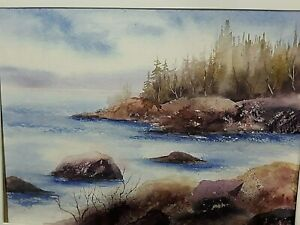 Canadian Landscape Painting Canadian Artist Group of Seven Style Painting