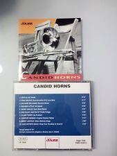 CANDID HORNS (MINGUS,DOLPHY,ELLIS...)  CD  (EDIZIONE MUSICA JAZZ) 2002