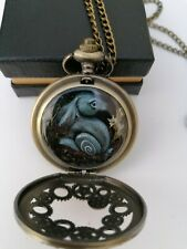 Steampunk Rabbit Watch Fob Necklace