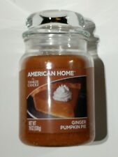*NEW* Yankee Candle American Home Ginger Pumpkin Pie Candle, 19 OZ, 100-125 hrs
