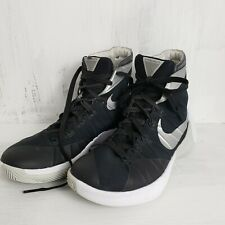 low priced d1485 81d3e Nike Mens Shoe Hyperdunk 2015 Hi Top Size 8.5 Black and White Basketball  Shoe