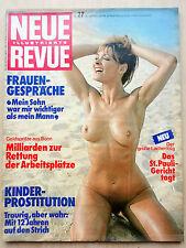 Neue Revue Nr 27/1975, Margaux Hemingway, Carl Gustav von Schweden,Ilse Bongartz