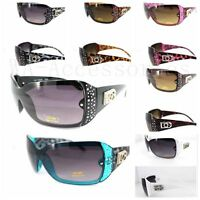 New DG Eyewear Womens Rhinestones Sunglasses Designer Shades Fashion Retro (396)