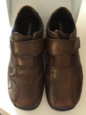 Windsor Smith Mens Brown Leather Loafer Slip On Shoes BRADY Size 7 Comfortable